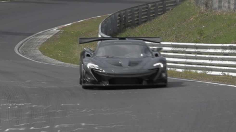 El McLaren XP1LM bate el récord de Nürburgring: ¡6:43.2! (vídeo y fotos)