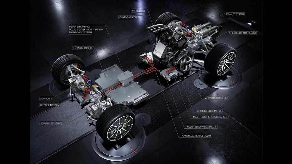 Mercedes-AMG Project One: nuevos datos del coche de más de 1.000 CV