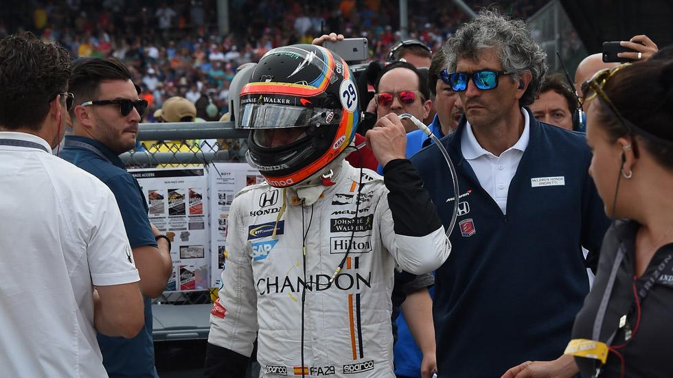 El calvario de Alonso con Honda: Indianápolis, el último capítulo