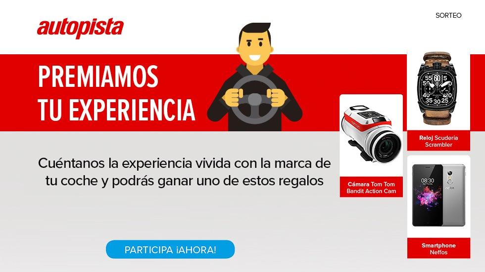 Premiamos tu experiencia: ¡opina de coches y gana!