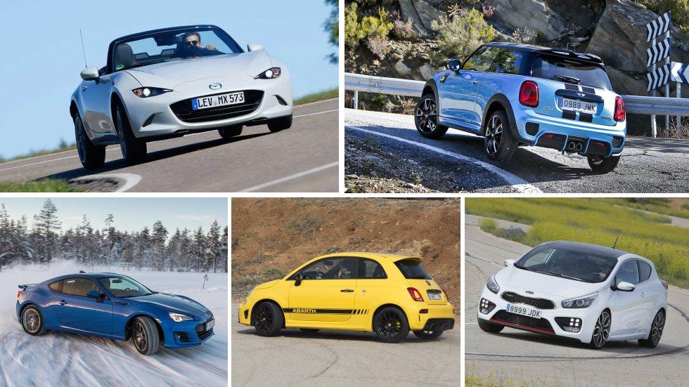 Los coches más divertidos de conducir por menos de 30.000 euros