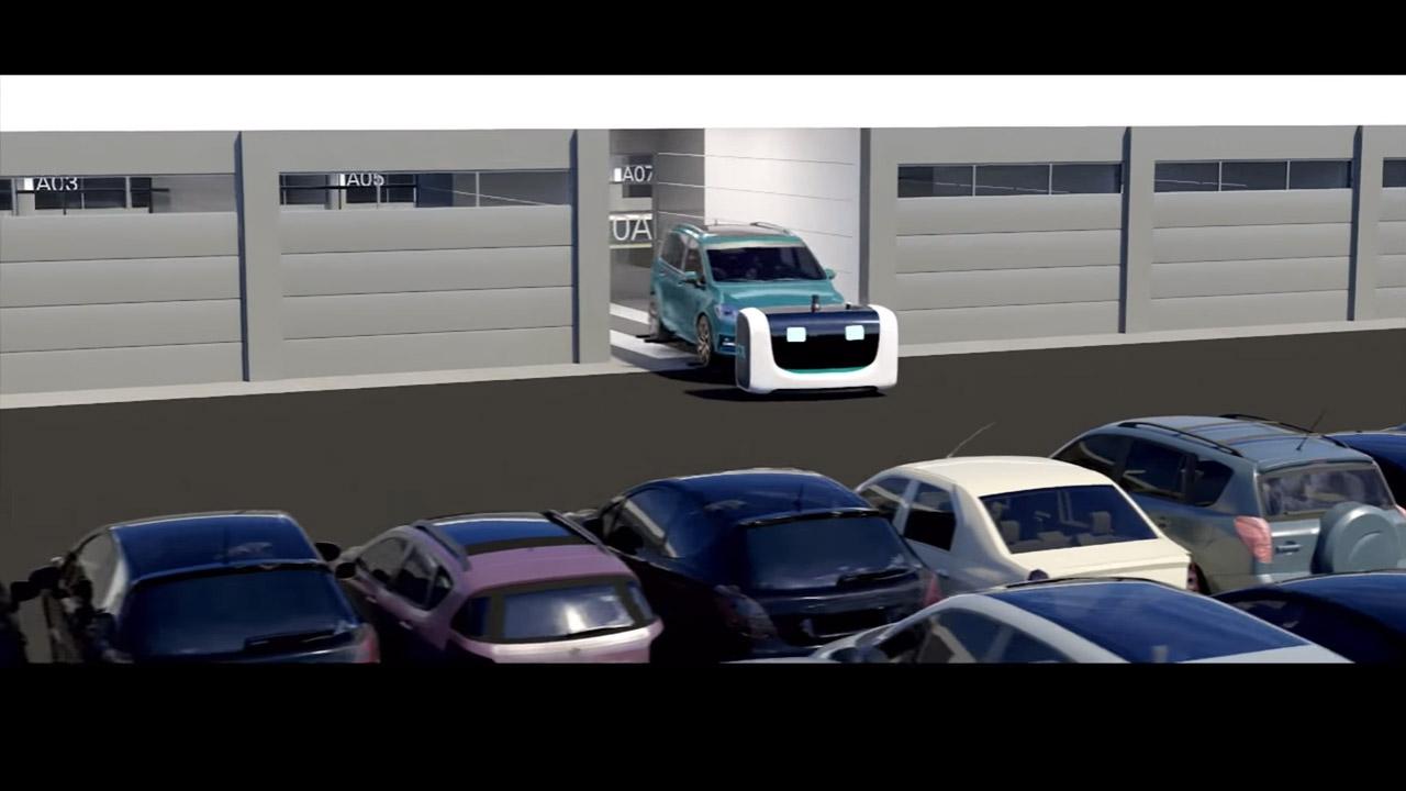 Stan, el peculiar robot aparcacoches (vídeo)