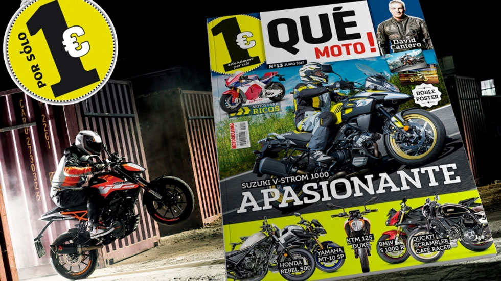 Ya en el quiosco la revista Qué Moto!... ¡A 1 euro!