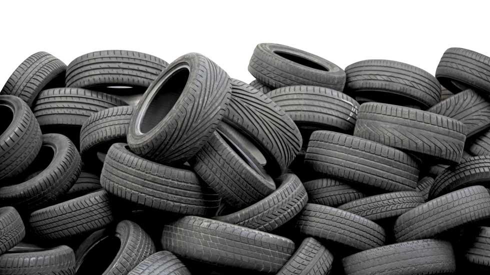 Los neumáticos usados pueden salvar vidas