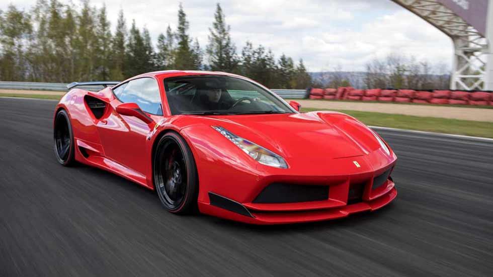 Novitec Rosso N-Largo Ferrari 488 ¡Casi 800 CV! (fotos y vídeo)