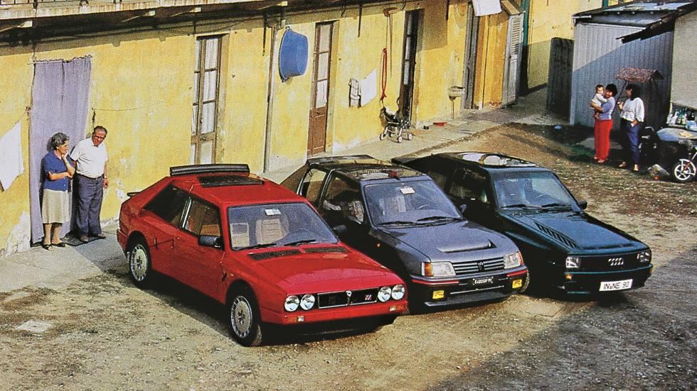 Coches para el recuerdo: Peugeot 205 Turbo 16, Lancia Delta S4 y Audi Sport Quattro