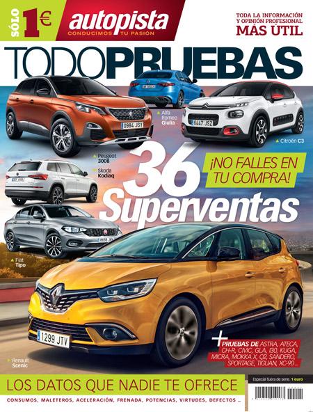 Las pruebas de los 36 coches más vendidos ¡a 1 euro!