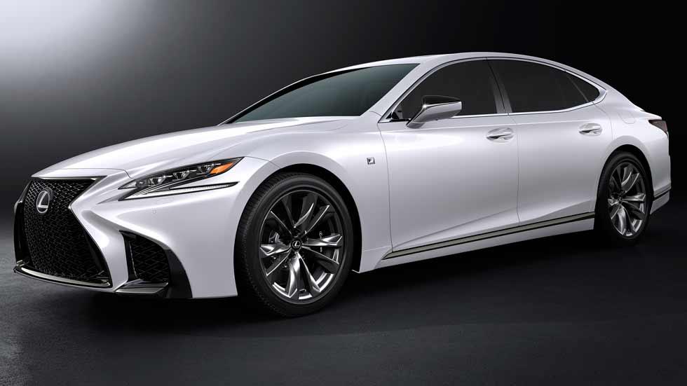 Lexus LS 500h F-Sport: la berlina híbrida de lujo, ahora más deportiva