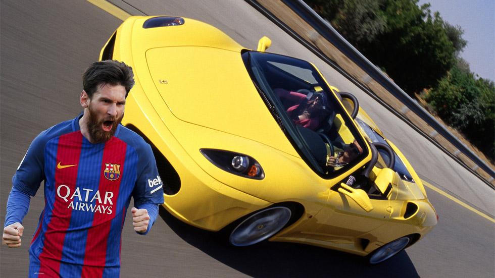 Leo Messi necesita media hora de juego para pagar su Ferrari