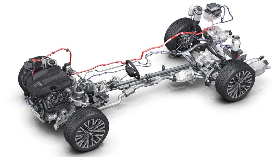 Así funciona el Audi A8 2018... virtualmente (vídeo y fotos)