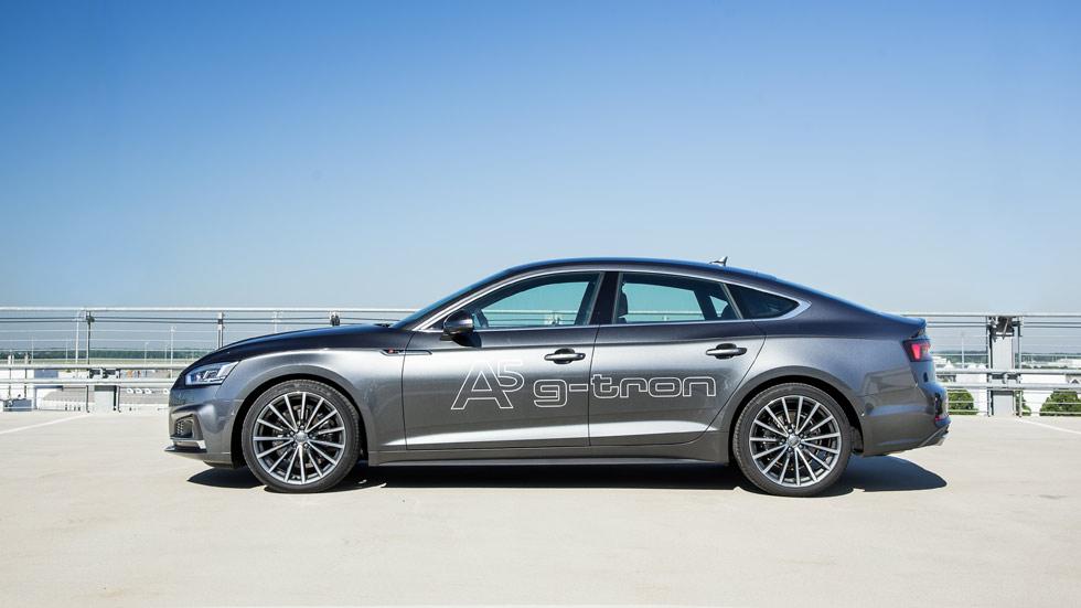 Audi A4 y A5 g-tron: probamos los motores de gas natural