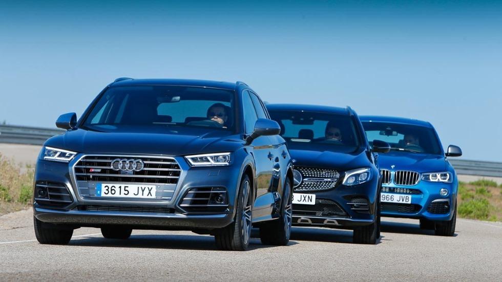 Audi SQ5, BMW X4 M40i y Mercedes-AMG GLC 43: ¿qué SUV es mejor?