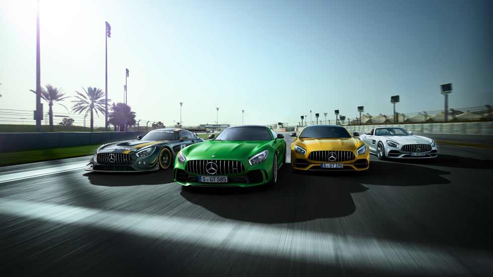 Mercedes-AMG nos regala sus 50 años de historia en vídeo