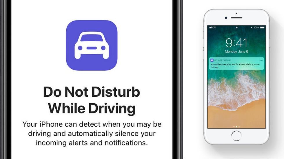 No molestar al conducir: el nuevo modo de iOS 11 que bloqueará tu pantalla