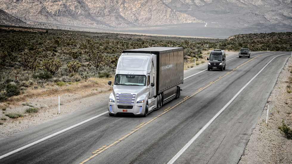 El gigante Google entra en la lucha por liderar los camiones autónomos
