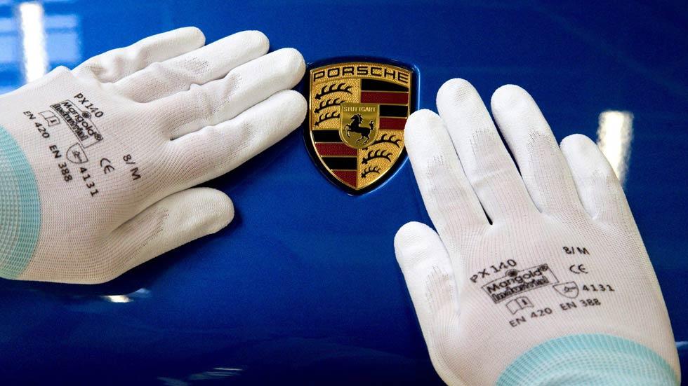 ¿Falsea Porsche las emisiones a través de la dirección de sus coches?