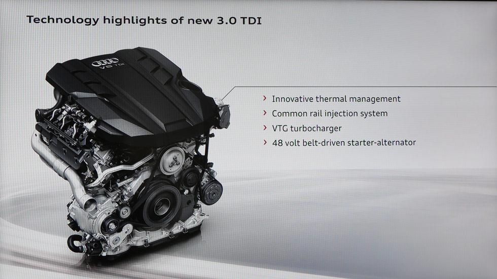 Audi A8 2017: así serán sus motores V6 y V8