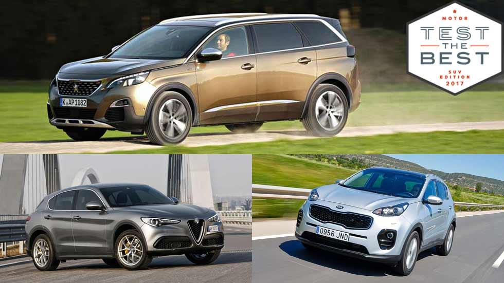 Prueba gratis los SUV de moda: Peugeot 5008, Kia Sportage, Alfa Stelvio y... muchos más