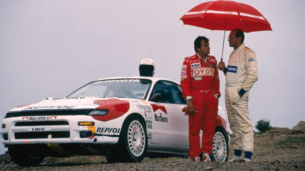 Coches míticos de rallyes: Toyota Celica Turbo 4WD Grupo A de Carlos Sainz