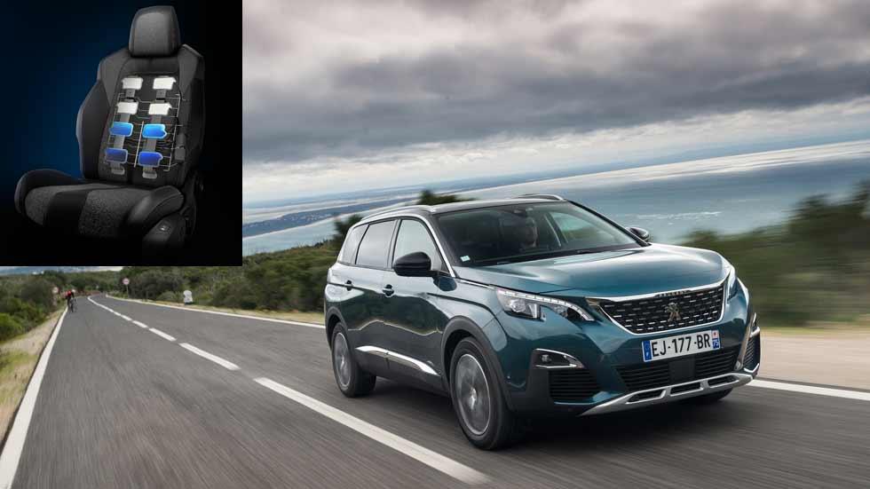 Peugeot 5008: el SUV que da hasta 15 tipos de masajes diferentes