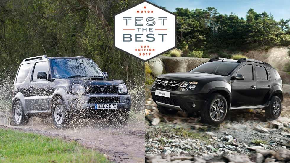 Prueba gratis los SUV más baratos e interesantes: Dacia Duster, Suzuki Jimny… y muchos más