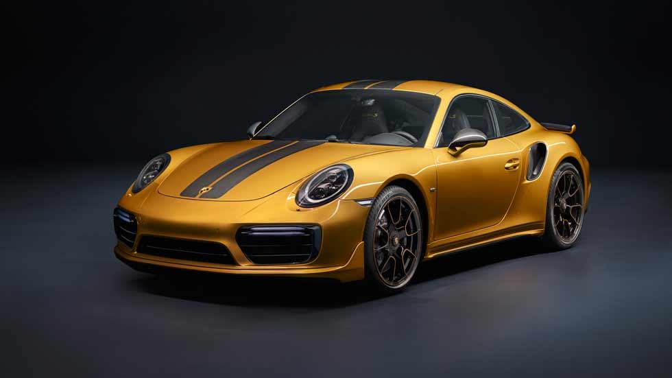 Porsche 911 Turbo S Exclusive Series: más potencia y refinamiento