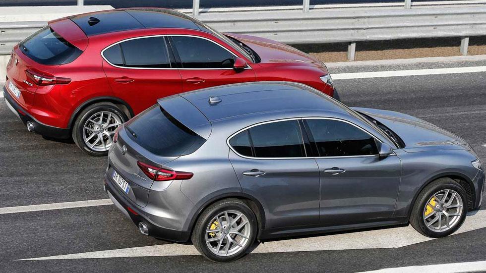 Alfa Romeo Kamal y Castello: nuevos hermanos SUV para el Stelvio