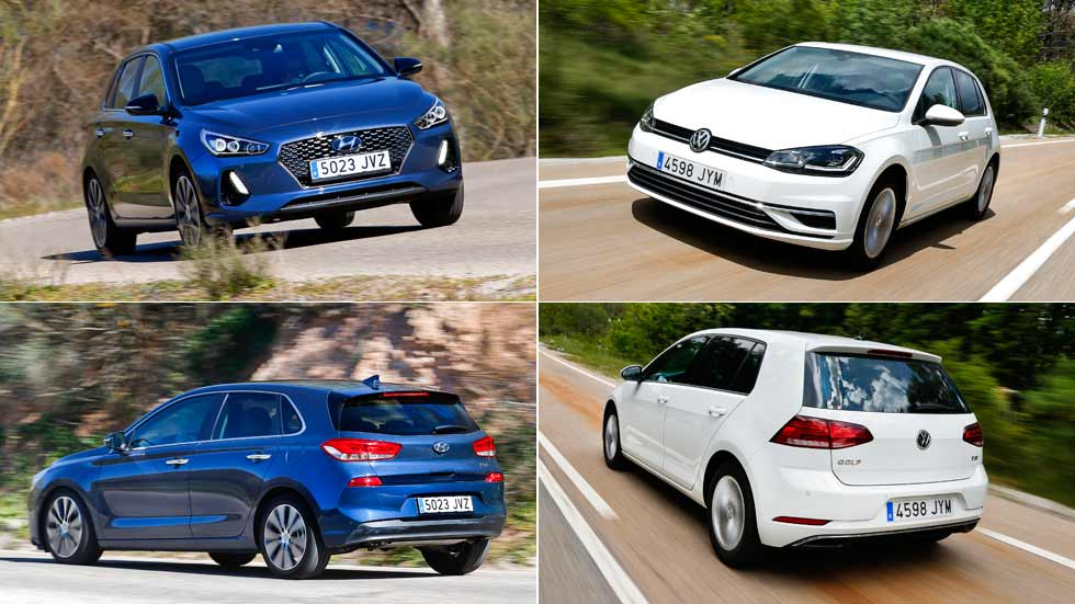 Hyundai i30 1.0 T-GDI vs VW Golf 1.0 TSI: en busca del mejor compacto de gasolina