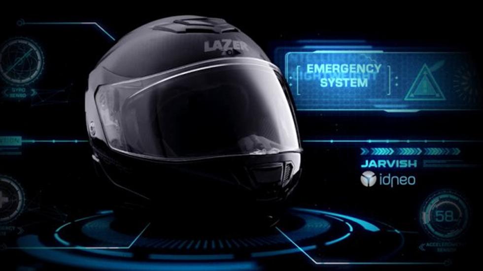¡Increíble! Así es el nuevo casco inteligente para motoristas