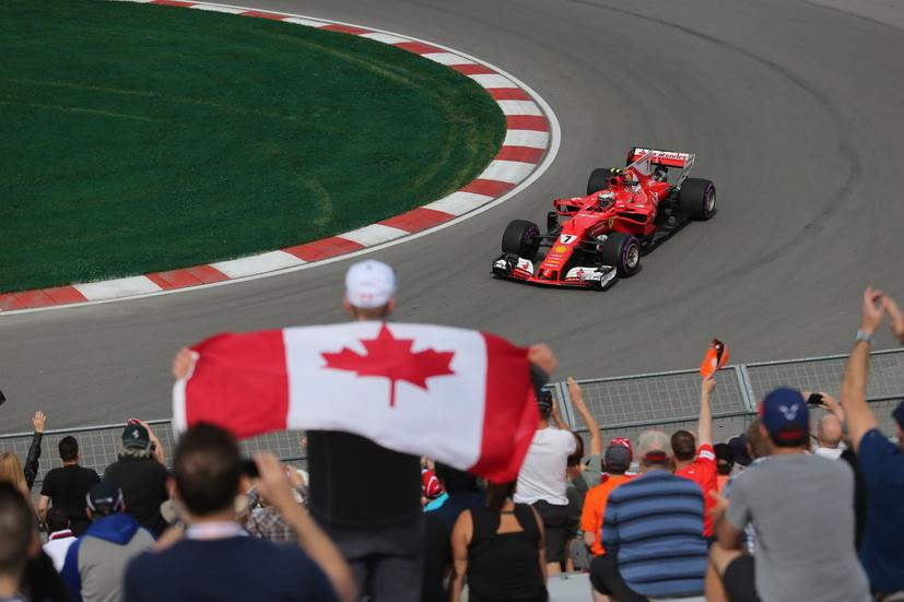 GP de Canadá de F1: Raikkonen delante de Hamilton por la tarde