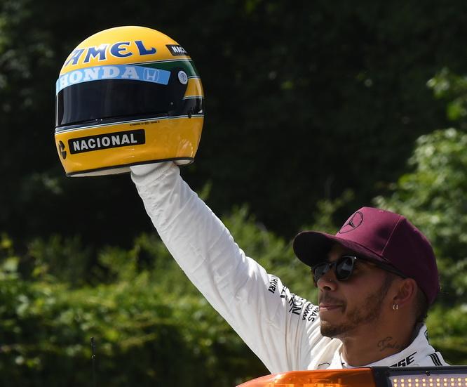 GP de Canadá de F1: el casco de Senna es una réplica