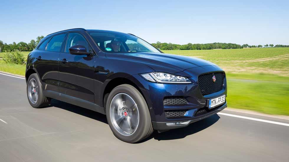 Jaguar F-Pace 2018: más potencia y menos consumo para el SUV inglés. ¡Lo probamos!