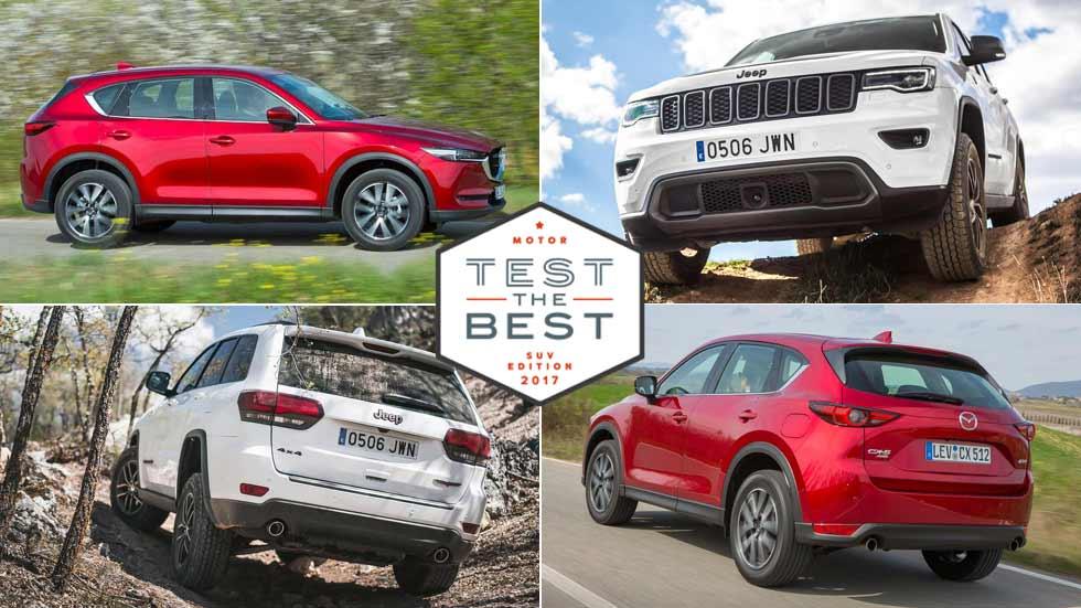 Prueba gratis los SUV más novedosos: Jeep Grand Cherokee, Mazda CX-5… y muchos más