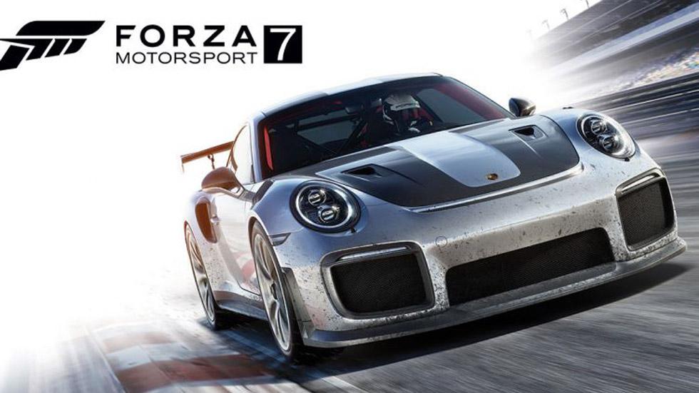 El nuevo Porsche 911 GT2 RS, portada del videojuego Forza Motorsport 7