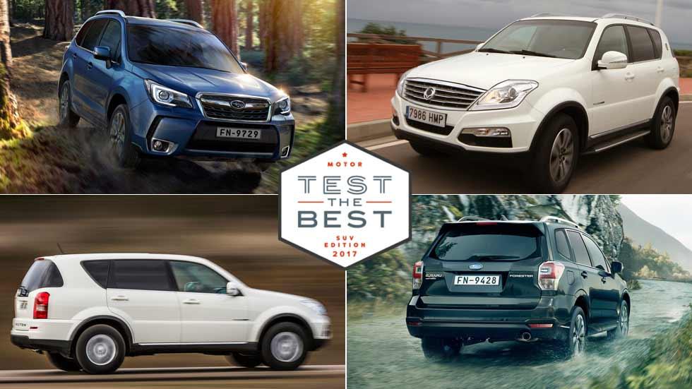 Prueba gratis los SUV más desconocidos: Subaru Forester, Ssangyong Rexton … y muchos más