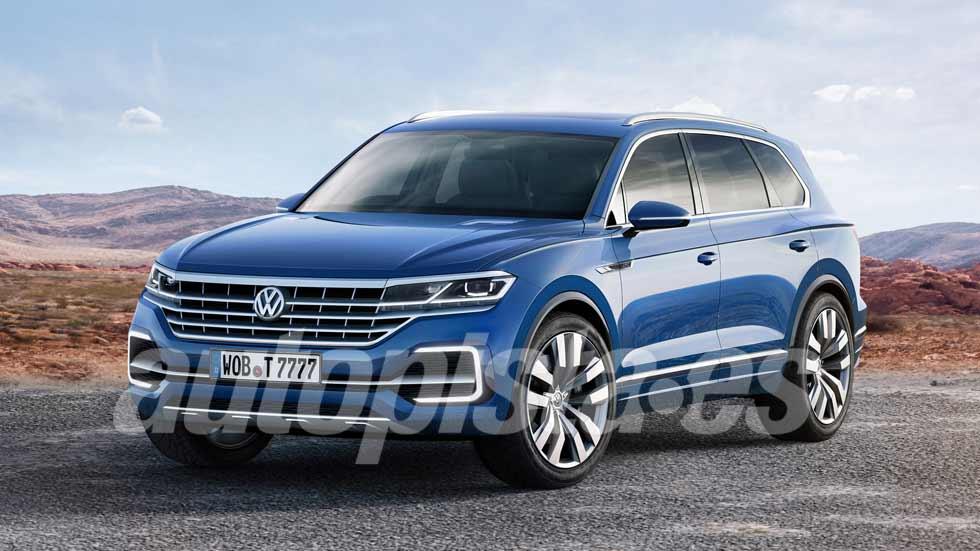 Volkswagen Touareg 2018: primeros datos e imágenes del nuevo SUV