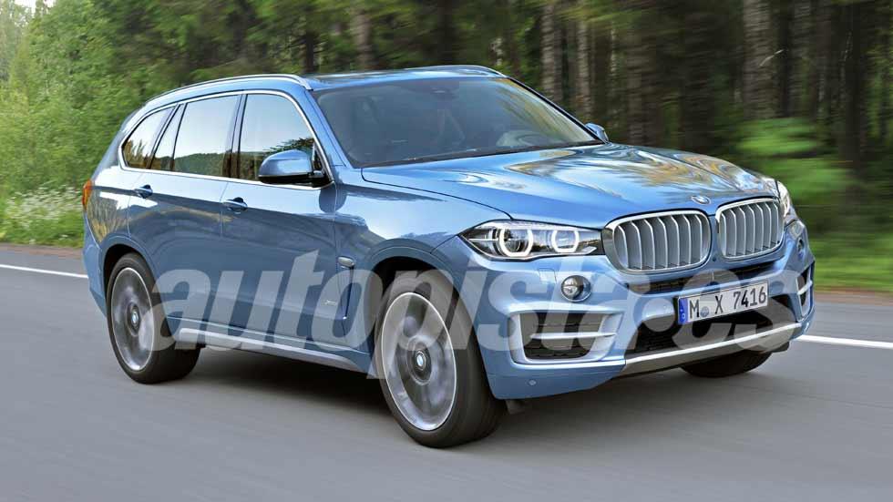 BMW X7: habrá un SUV aún más lujoso y grande que X5 y X6