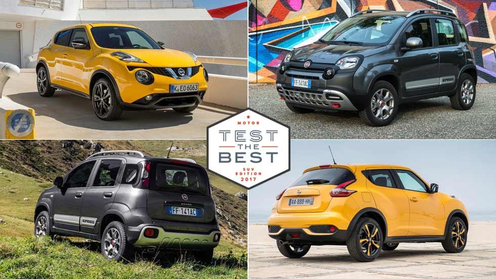 Prueba gratis los SUV más urbanos: Nissan Juke, Fiat Panda Cross … y muchos más