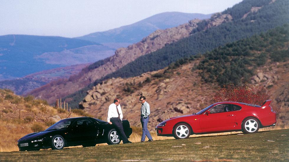 Coches para el recuerdo: Toyota Supra vs Honda NSX (prueba original)