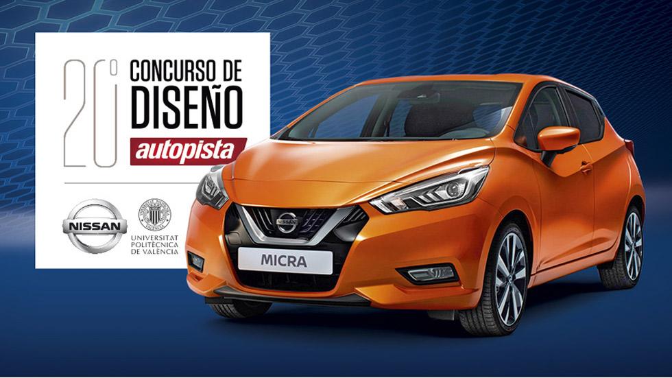 Te invitamos a celebrar el XX Concurso de Diseño de Autopista, Nissan y la UPV