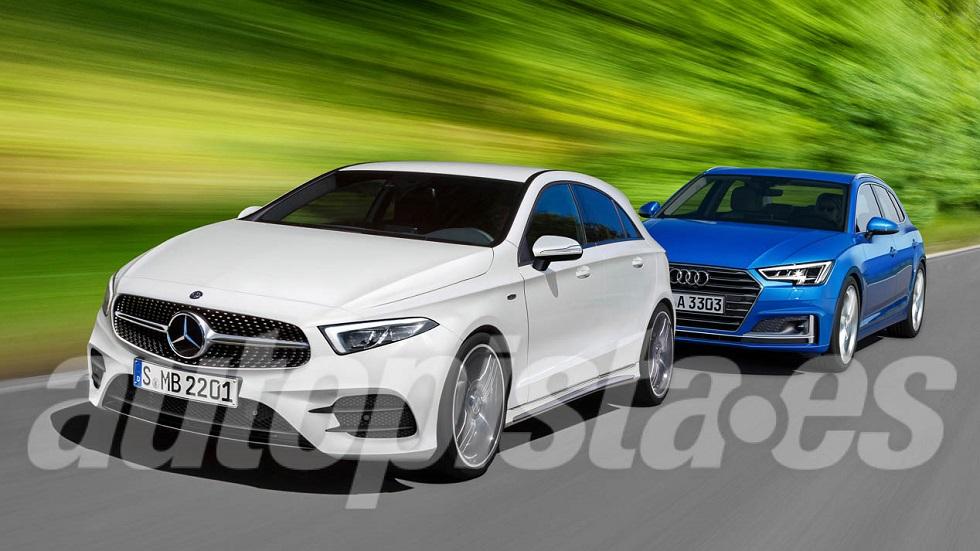 Audi A3 y Mercedes Clase A: nuevas generaciones en 2018