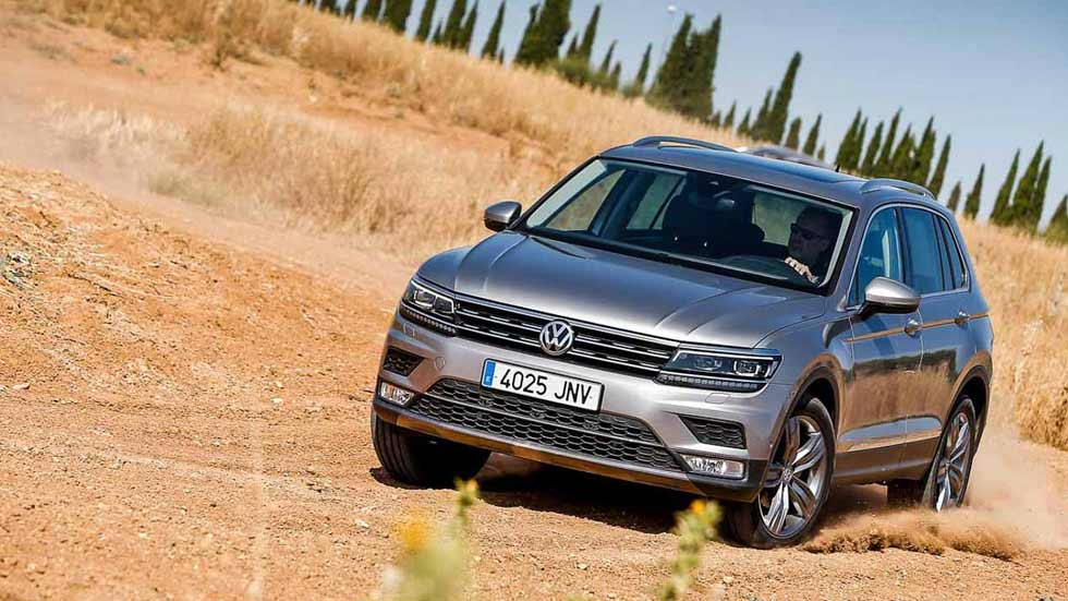 Prueba el Volkswagen Tiguan y muchos más en el Test The Best SUV