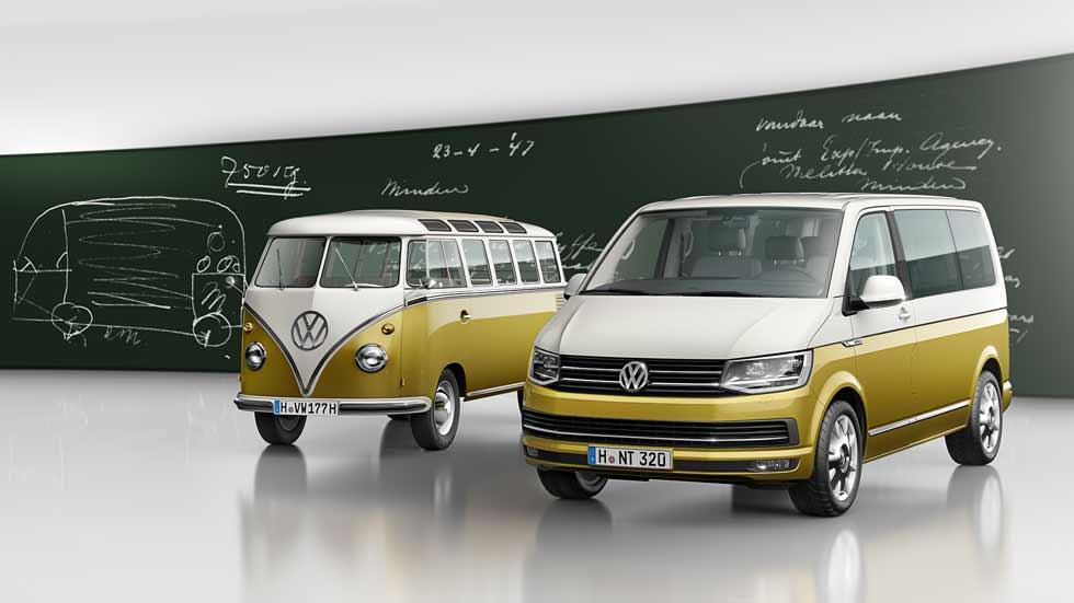Nuevo VW Multivan como homenaje al 70 aniversario del Bulli