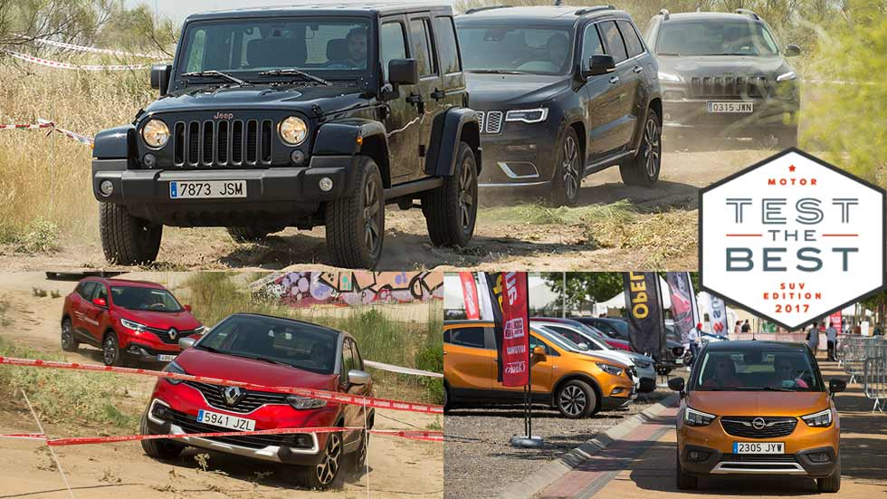Test The Best SUV 2017: récord de pruebas SUV en Madrid