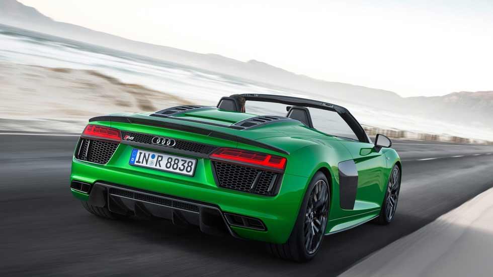 El espectacular Audi R8 Spyder V10 Plus, en vídeo