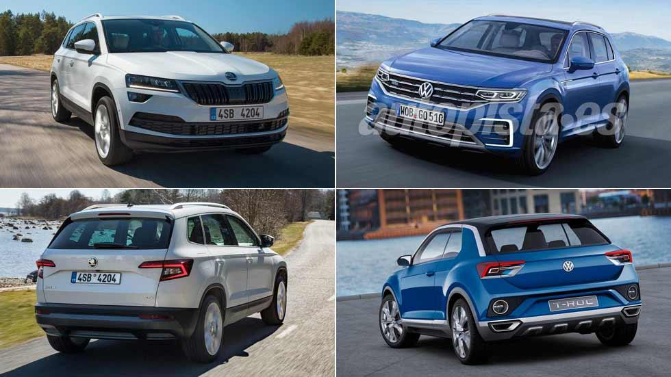 Nuevos SUV Volkswagen T-Roc y Skoda Karoq: ¡los probamos!