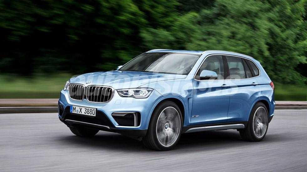 Así será el SUV BMW X3, más grande y mejor