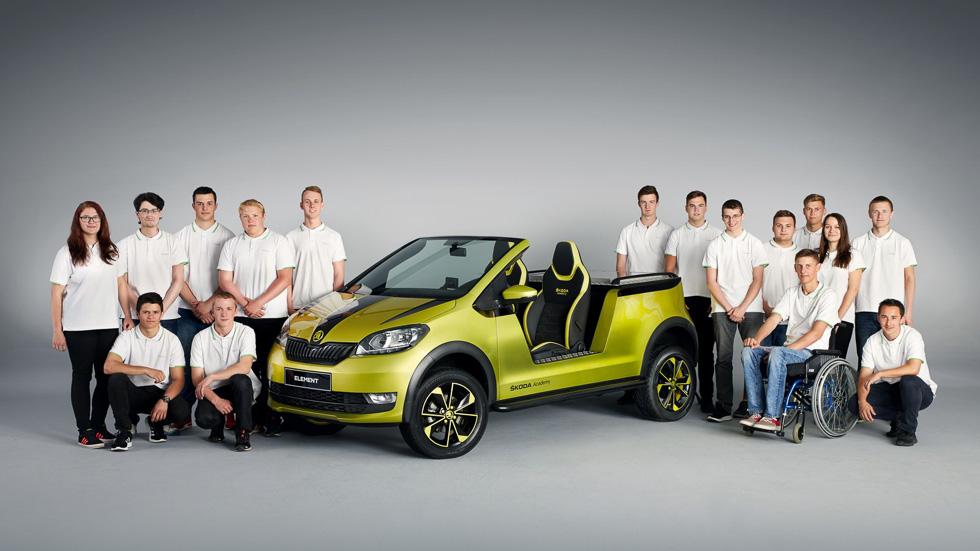 Skoda Element Concept: el  Citigo convertido en buggy eléctrico