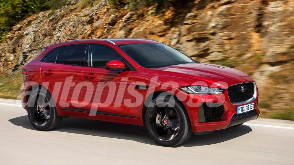 Jaguar E-Pace: el nuevo SUV compacto rival de BMW X1 y Mercedes GLA