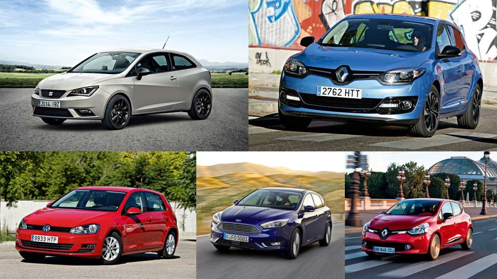 Los coches que más se conducen en nuestro país son…